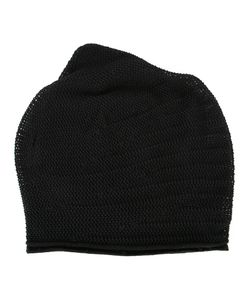 DEVOA | Perforated Beanie Silk/Cotton/Polyester