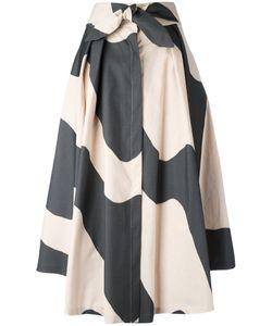 Milly | Wavy Print Full Skirt Size 10