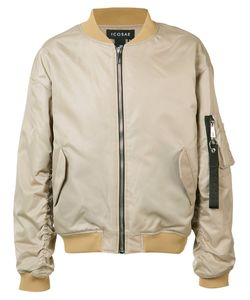 Icosae | Octopus Patch Bomber Jacket Small Cupro/Nylon