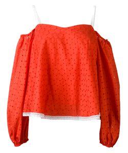 ANNA OCTOBER | Off Shoulder Top Size Medium