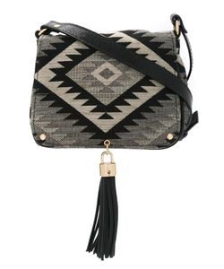 Xaa | Jacquard Shoulder Bag Cotton/Leather