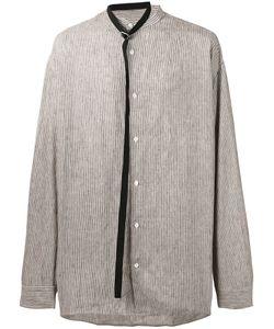 Raf Simons | Рубашка С Полосой И Поясом