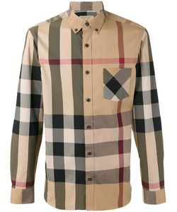 Burberry | Checked Shirt Size Small