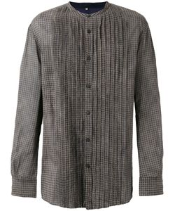 ZIGGY CHEN | Plaid Pintucked Shirt Size Large