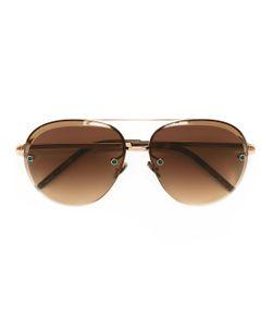 POMELLATO | Oversized Aviator Sunglasses