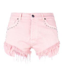 Gaëlle Bonheur | Gaelle Bonheur Studded Denim Shorts