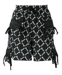 Ktz | All-Over Embroidered Shorts M