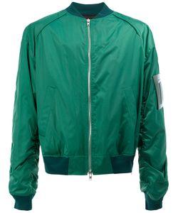 JUUN.J | Arm Detail Bomber Jacket 48 Cotton/Nylon/Polyester/Cupro