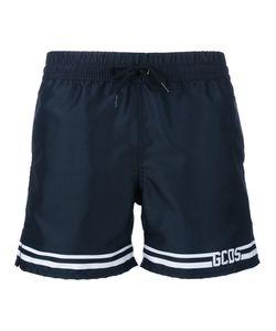 Gcds | Striped Logo Swim Shorts