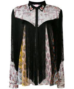 GIAMBA | Рубашка С Цветочным Принтом