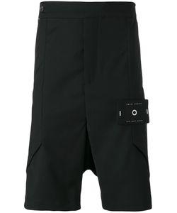 Odeur | Layered Drop Crotch Shorts