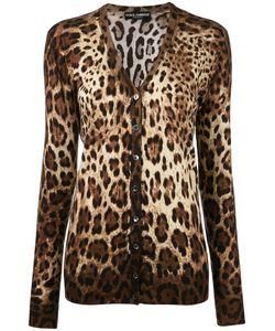Dolce & Gabbana | Кардиган С Леопардовым Принтом