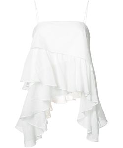 Cinq A Sept | Asymmetric Ruffle Top