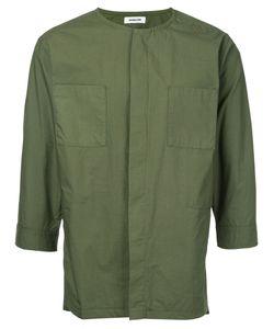 Monkey Time | Рубашка С Потайной Планкой На Пуговицах