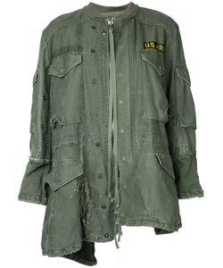 GREG LAUREN   Асимметричная Куртка