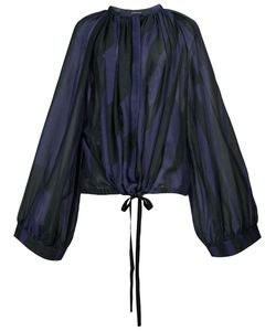 Ann Demeulemeester | Pleated Blouse Size