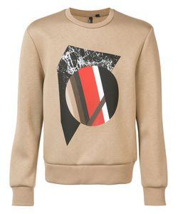 Neil Barrett | Front Print Sweatshirt Size Large