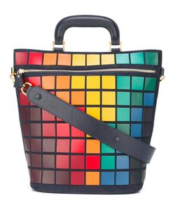 Anya Hindmarch | Large Pixels Tote Leather/Suede