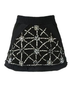 Andrea Bogosian | Embroidered Skirt M