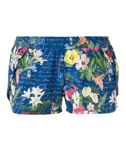 BLUE MAN | Printed Shorts P Polyamide/Spandex/Elastane