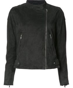 Just Female | Classic Biker Jacket Medium Goat Suede/Polyester