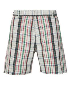 ORLEY | Checked Shorts S