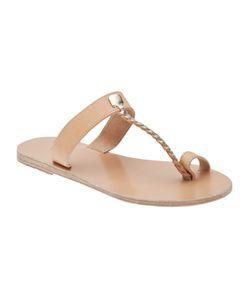 ANCIENT GREEK SANDALS | Melpomeni Flat Sandal Size