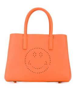 Anya Hindmarch | Small Featherweight Ebury Smiley Tote Leather