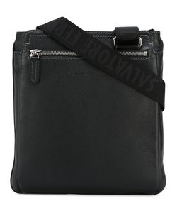 Salvatore Ferragamo | Pebbled Messenger Bag Calf Leather