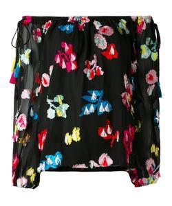 TANYA TAYLOR | Блузка С Открытыми Плечами И Вышивкой