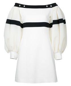 David Koma   Loose-Fit Sleeves Off-Shoulders Dress Size 10