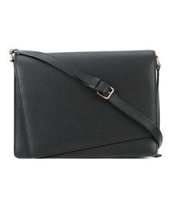 Valextra | Fold-Over Closure Shoulder Bag