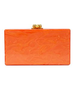 EDIE PARKER | Marbled Effect Clutch Acrylic