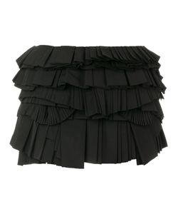 Givenchy | Юбка Мини С Плиссированными Панелями