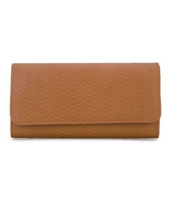ZANELLATO | Large Wave Embossed Wallet
