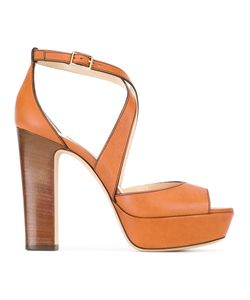Jimmy Choo | April 120 Sandals 37 Calf Leather/Leather