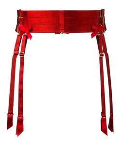 Bordelle   Bow Detail Suspender Size Medium