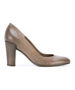 Roberto Del Carlo | Chunky Heel Pumps Size 39 Calf