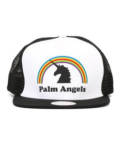 PALM ANGELS | Logo Print Cap Cotton/Polyester