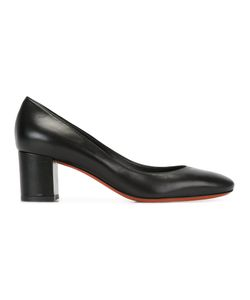 Baldinini | Chunky Heel Pumps 36 Leather