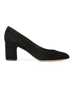 Casadei | Mid Heel Court Pumps 36 Calf Suede/Leather