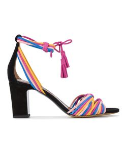 Tabitha Simmons | Woven Strappy Sandals
