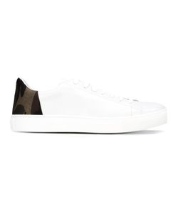 Belstaff | Camouflage Detail Sneakers 44 Leather/Rubber/Nylon