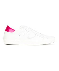 Philippe Model | Classic Sneakers 38 Cotton/Leather/Rubber