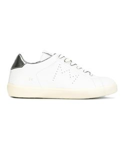 Leather Crown | Perforated Crown Sneakers 36 Leather/Rubber