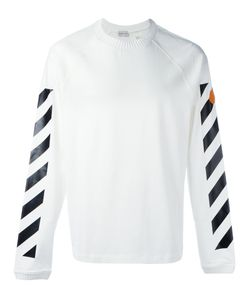 Moncler x Off-White | Logo Stripe Jumper Size Small