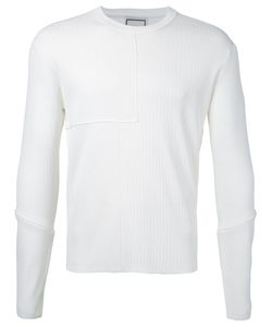 Wooyoungmi | Ribbed Detail Sweatshirt 50 Polyester/Viscose