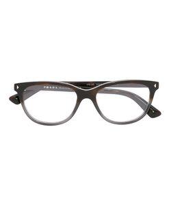 Prada Eyewear   Square Frame Glasses Acetate