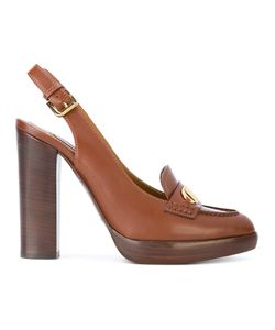 Ralph Lauren Collection | Slingback Pumps