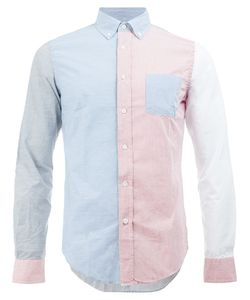 WOOSTER + LARDINI | Colour Block Shirt Size Medium